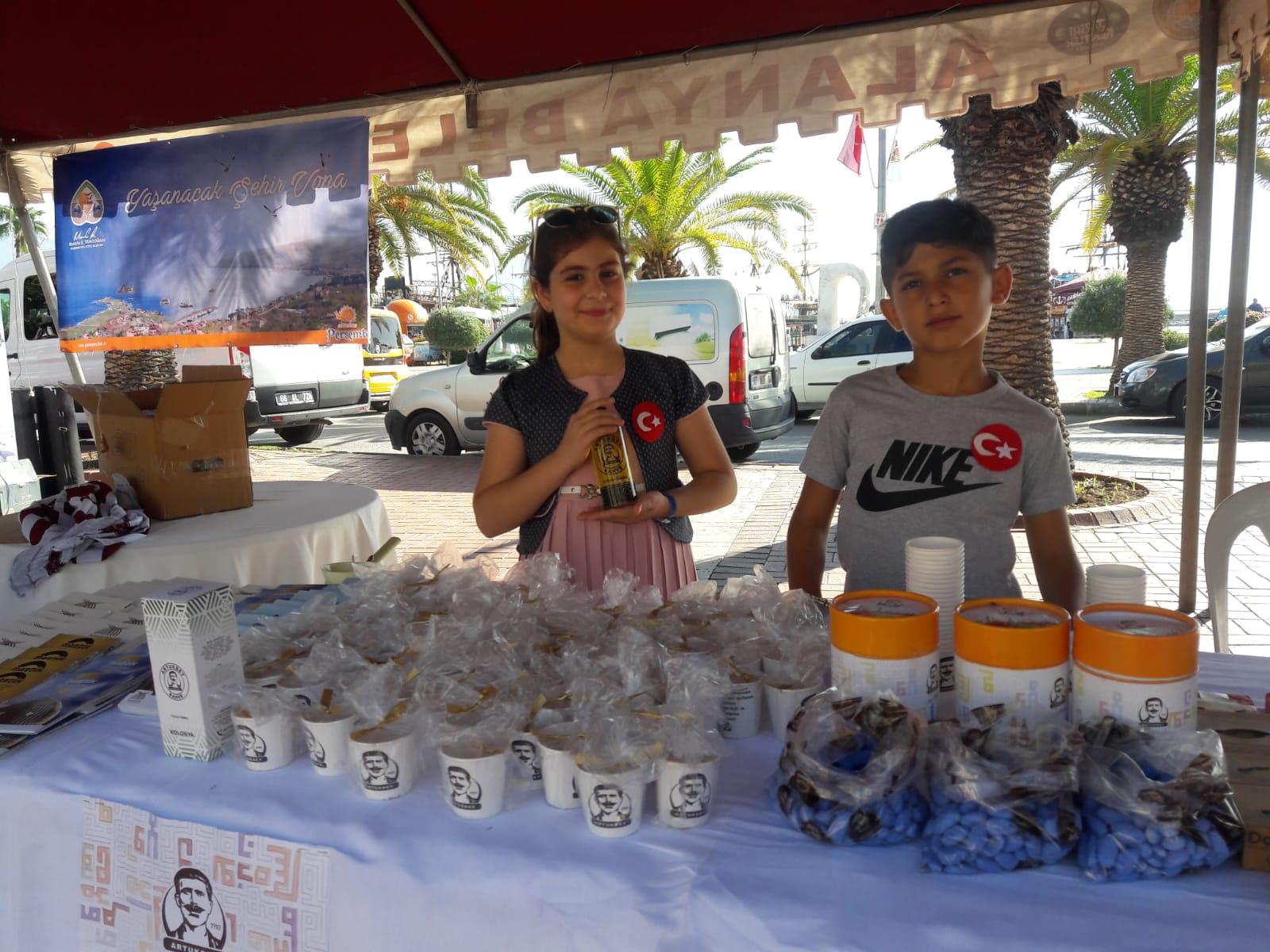 Mardin'in yöresel ürünleri festivalde tanıtıldı