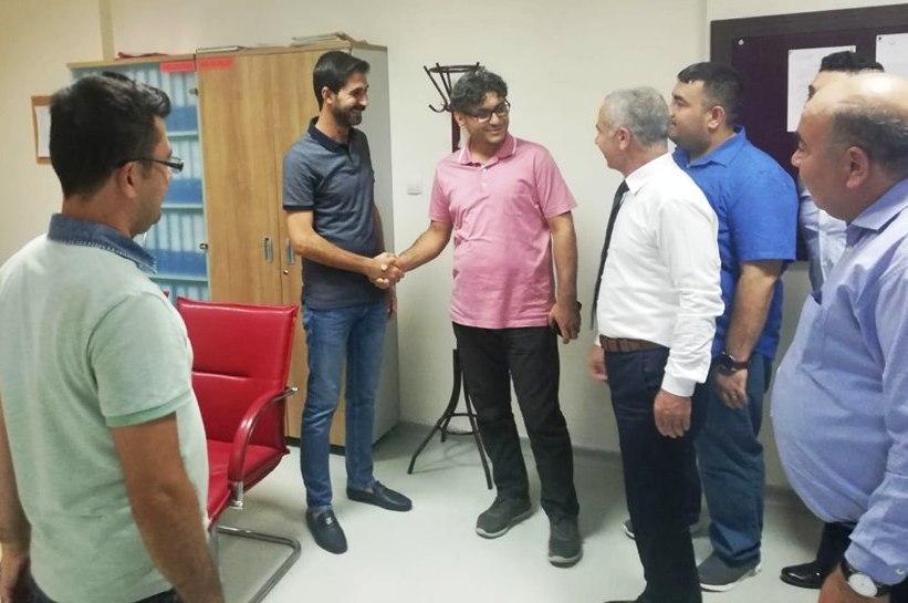 Kızıltepe Devlet Hastanesinde yeni başhekim göreve başladı