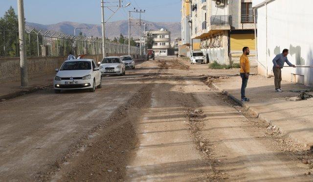 Kızıltepe'de trafiğe kapalı bir yol daha açıldı