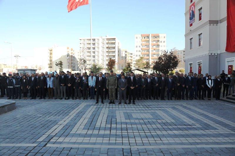 Kızıltepe'de 10 Kasım Atatürk'ü Anma Günü