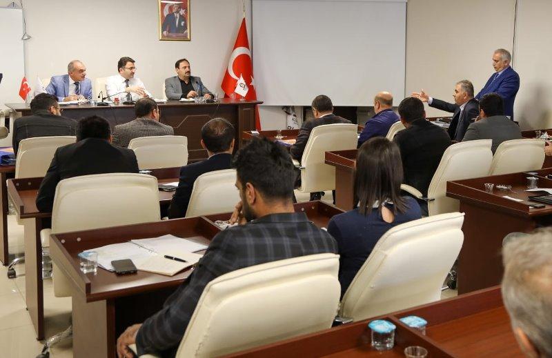 Kızıltepe'nin altyapı sorunları görüşüldü