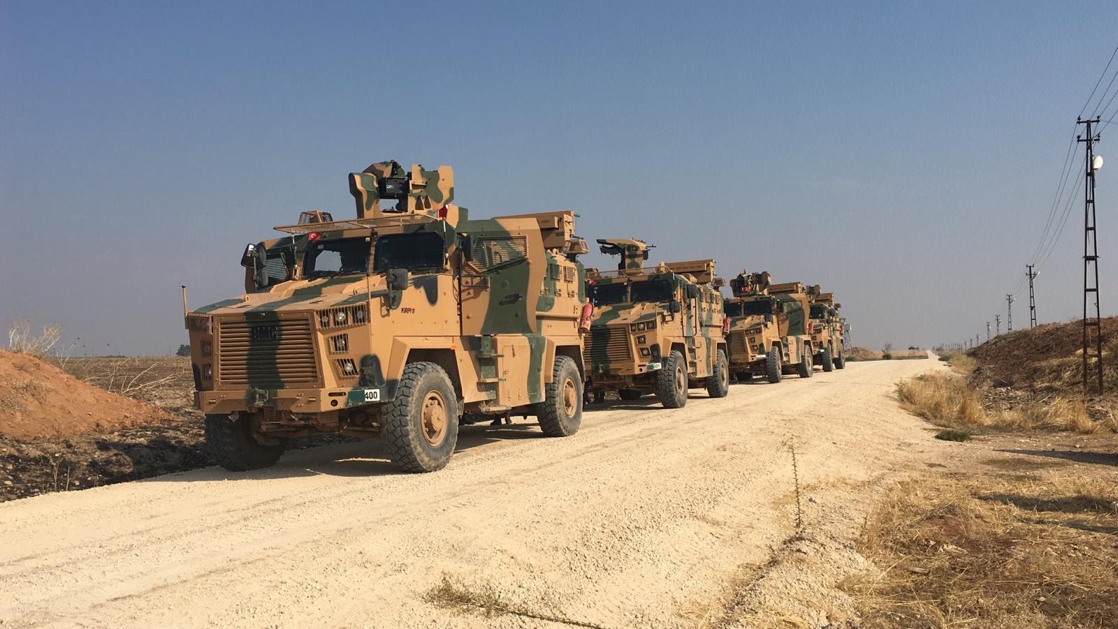 Türkiye-Rusya ortak devriyesi Kızıltepe sınırında başladı