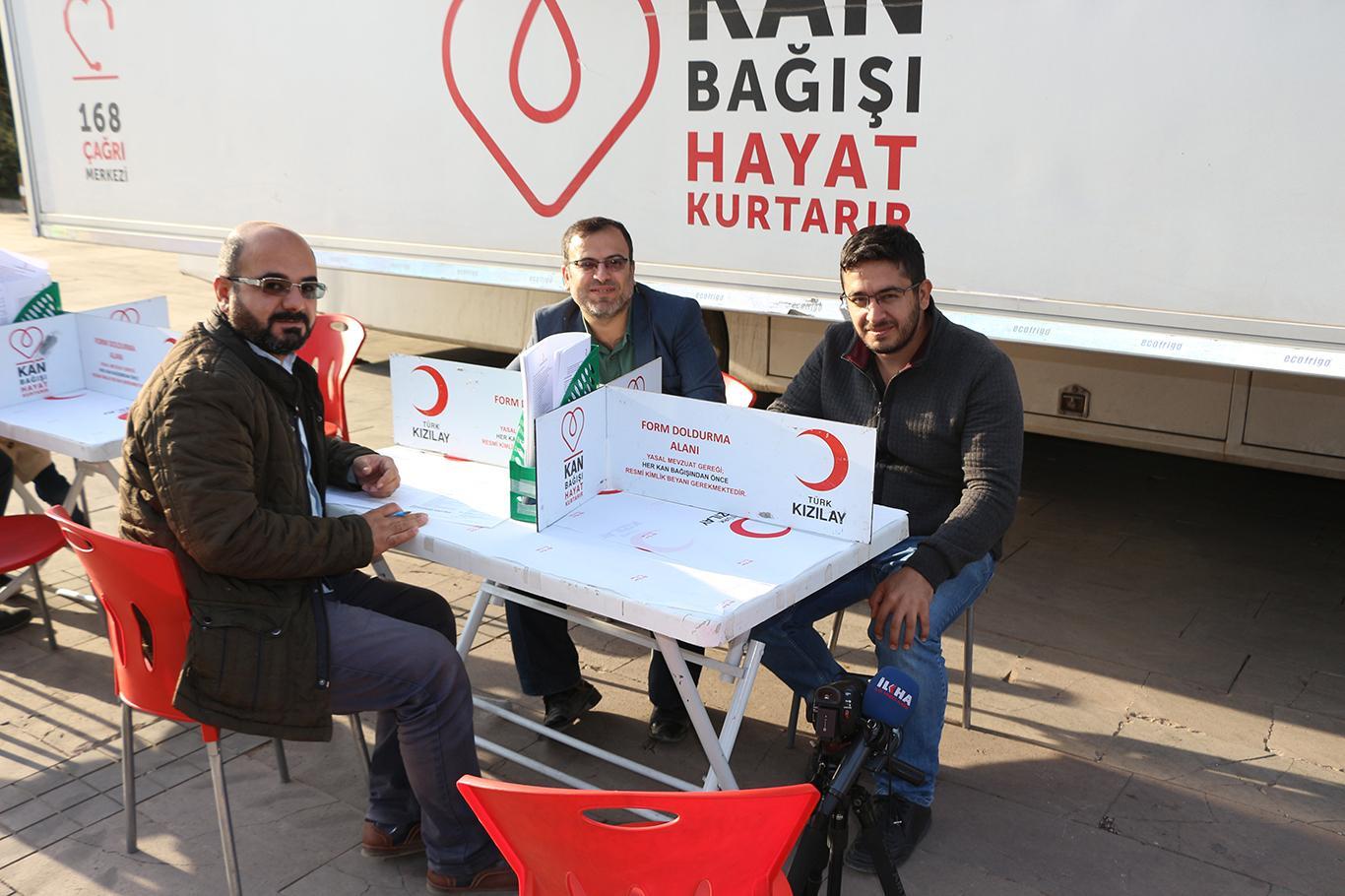Mardinliler 2 gün boyunca kan bağışında bulunacak