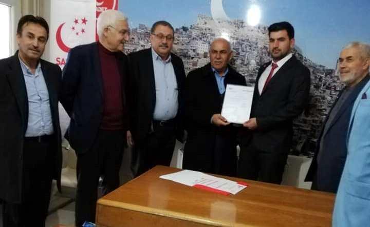 Saadet Partisi Kızıltepe'de Hacı İlhan dönemi