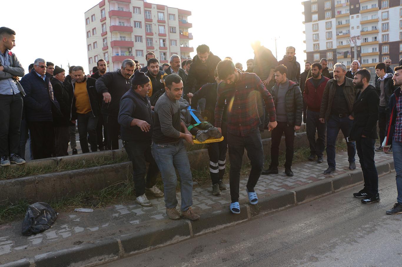 Kızıltepe'de aracın çarptığı lise öğrencisi ağır yaralandı