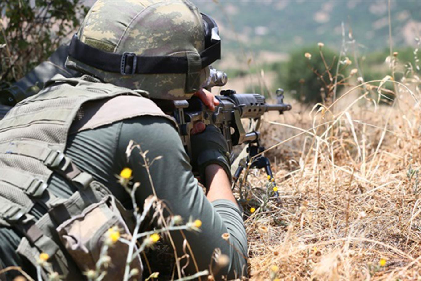 Jandarmanın ikna ettiği PKK'lı Mardin'de teslim oldu