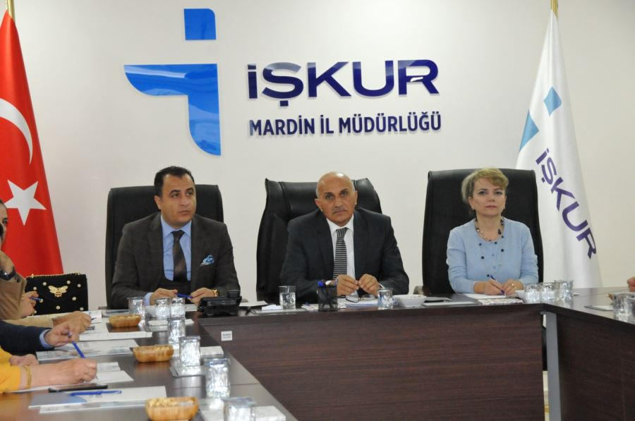 """İŞKUR Müdürü: """"Mardin'de 4 bin 794 kişi istihdam edildi"""""""