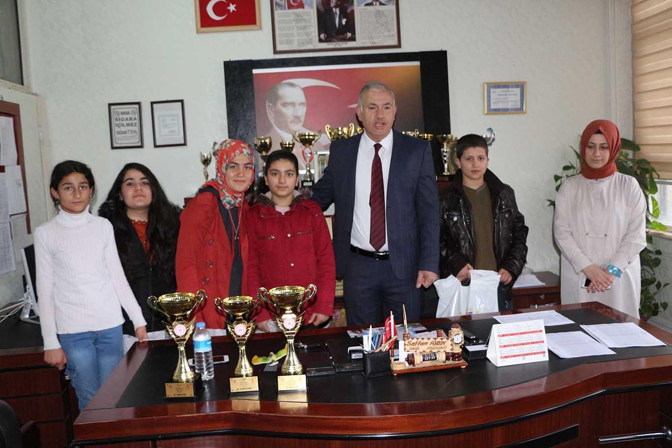 Kızıltepe'de yarışma ödülleri sahiplerini buldu