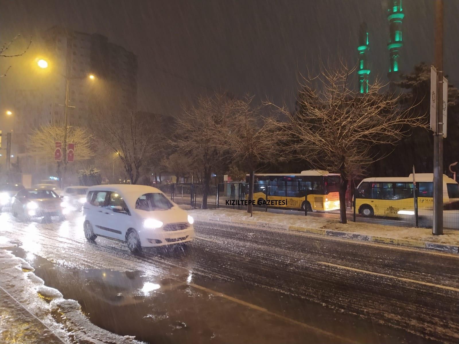 Meteoroloji'den Mardin için kuvvetli ve yoğun kar yağışı uyarısı