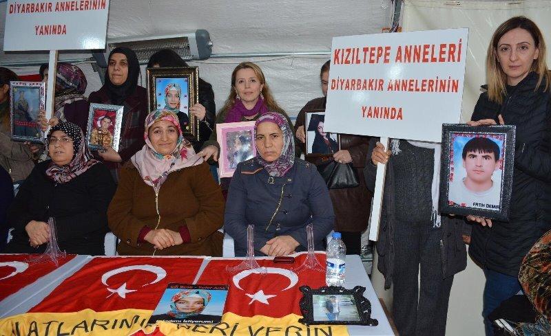 Diyarbakır annelerine Kızıltepe'den destek ziyareti