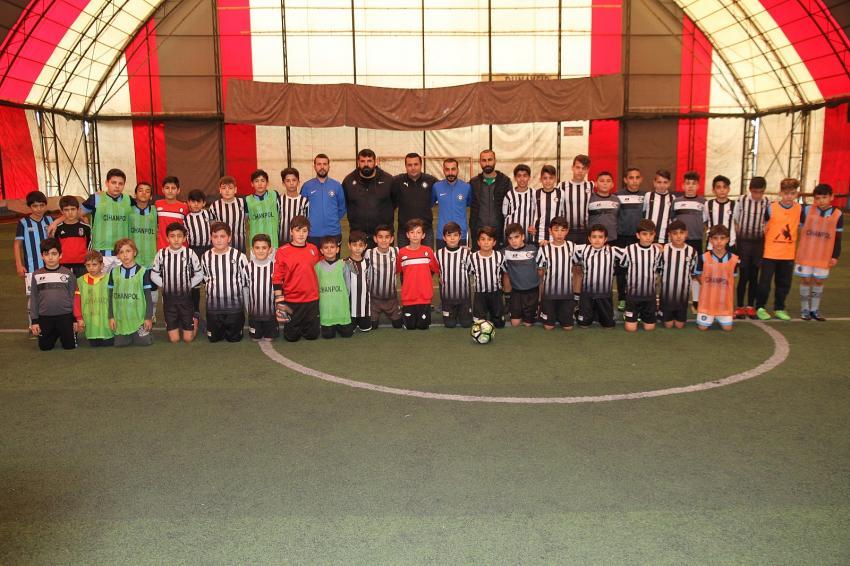 Kızıltepe Altay Futbol Okuluna yoğun ilgi