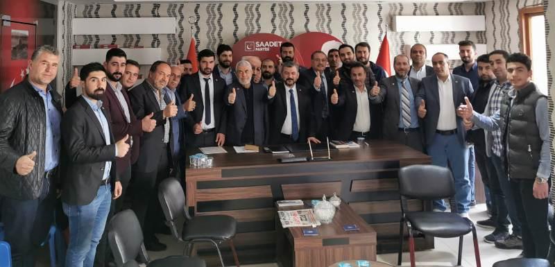Saadet Partisi Kızıltepe ilçe divan toplantısı gerçekleşti