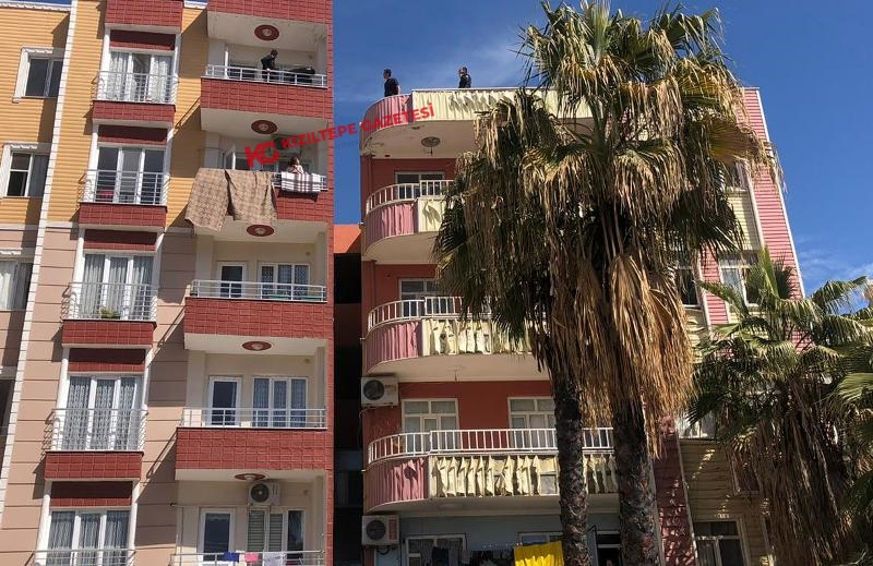 Kızıltepe'de intihara kalkışan kişiyi polis ikna etti