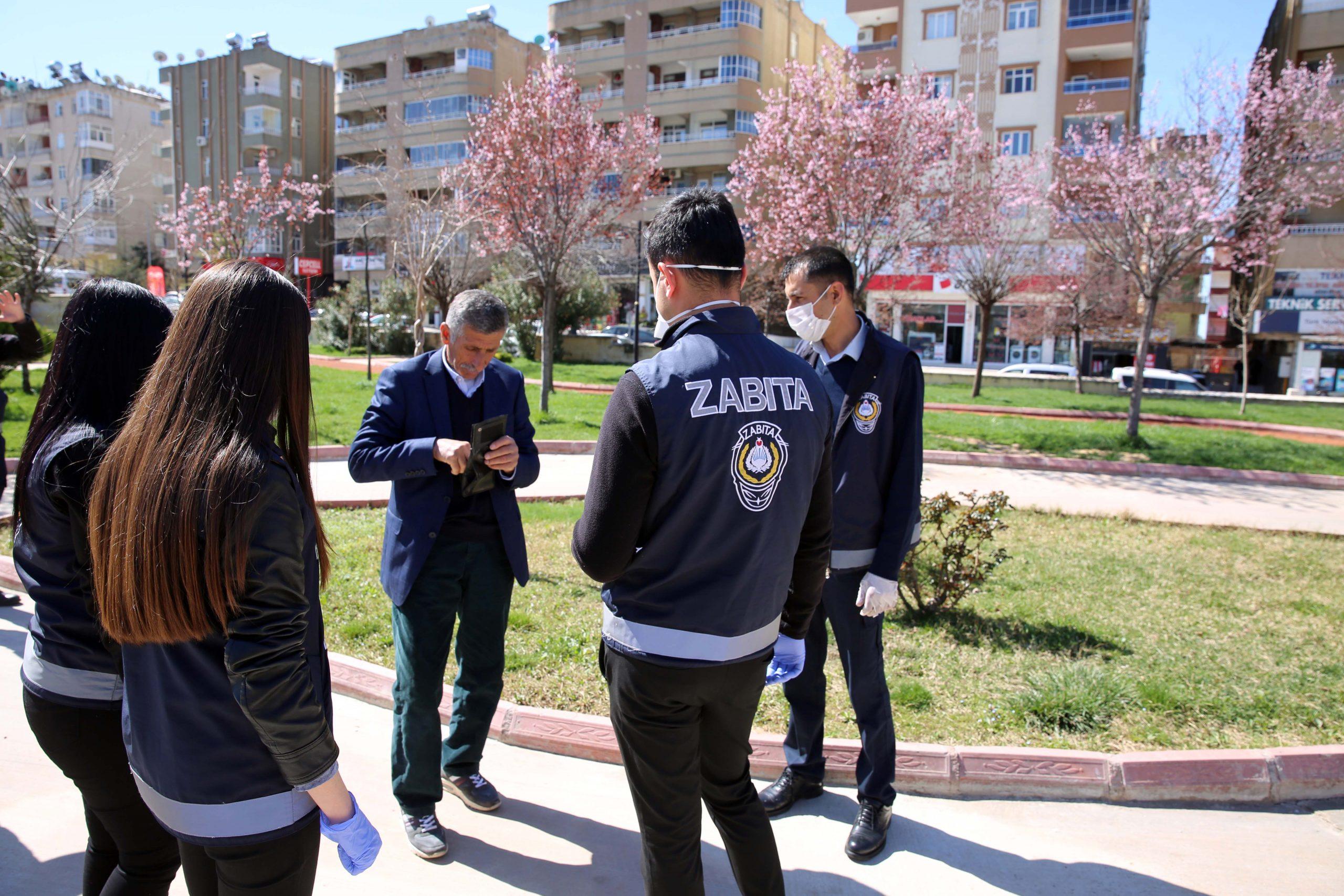 Mardin'de Corona denetimleri sürüyor