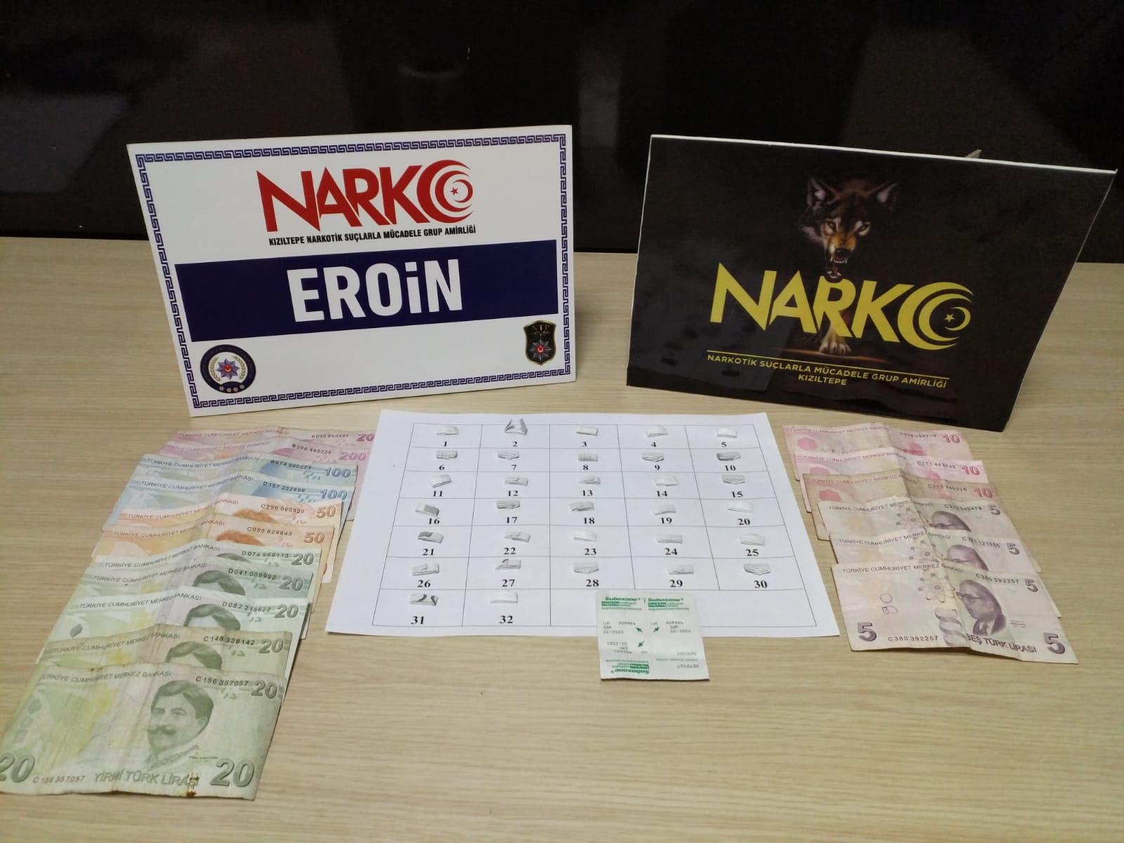 Kızıltepe'de uyuşturucu ticaretine 10 tutuklama