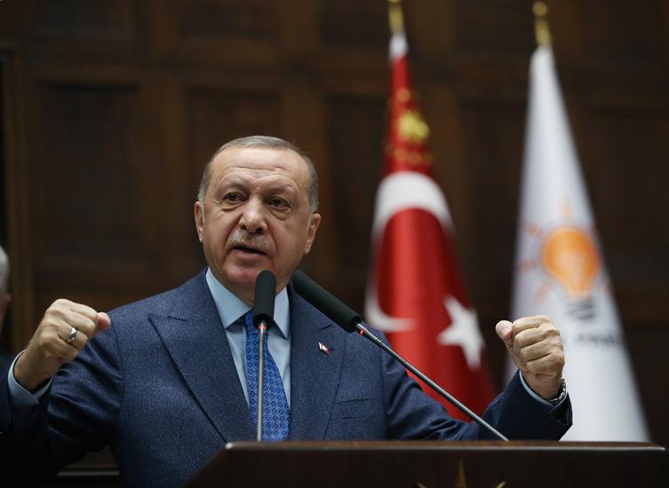"""Erdoğan: """"Hiçbir virüs bizim tedbirlerimizden daha güçlü değildir"""""""