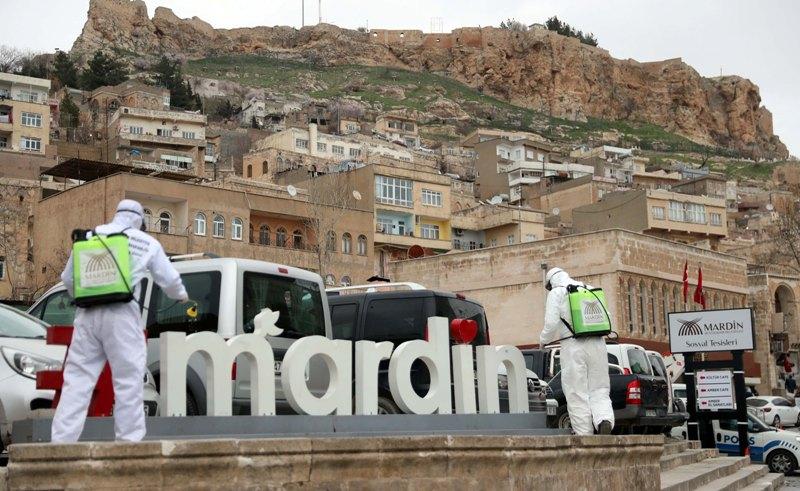 Mardin'de önlemler arttırıldı