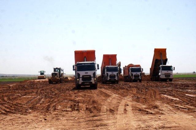 Mardin depolamasında çalışmalar devam ediyor