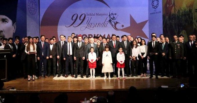Mardin'de İstiklal Marşı'nın kabulü ve Mehmet Akif Ersoy'u anma programı
