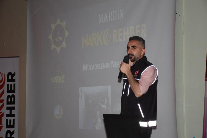'Uyuşturucu ile Mücadele Bilgilendirme' konferansı yapıldı