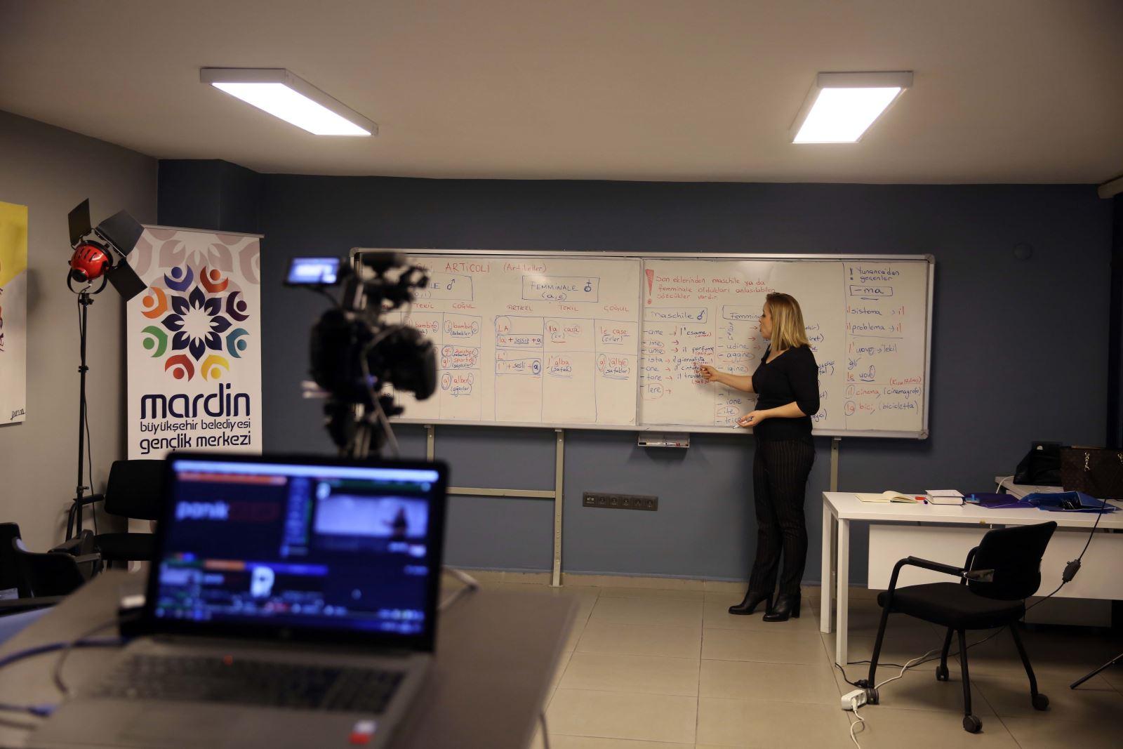 Büyükşehir Belediyesinden online yabancı dil eğitimi