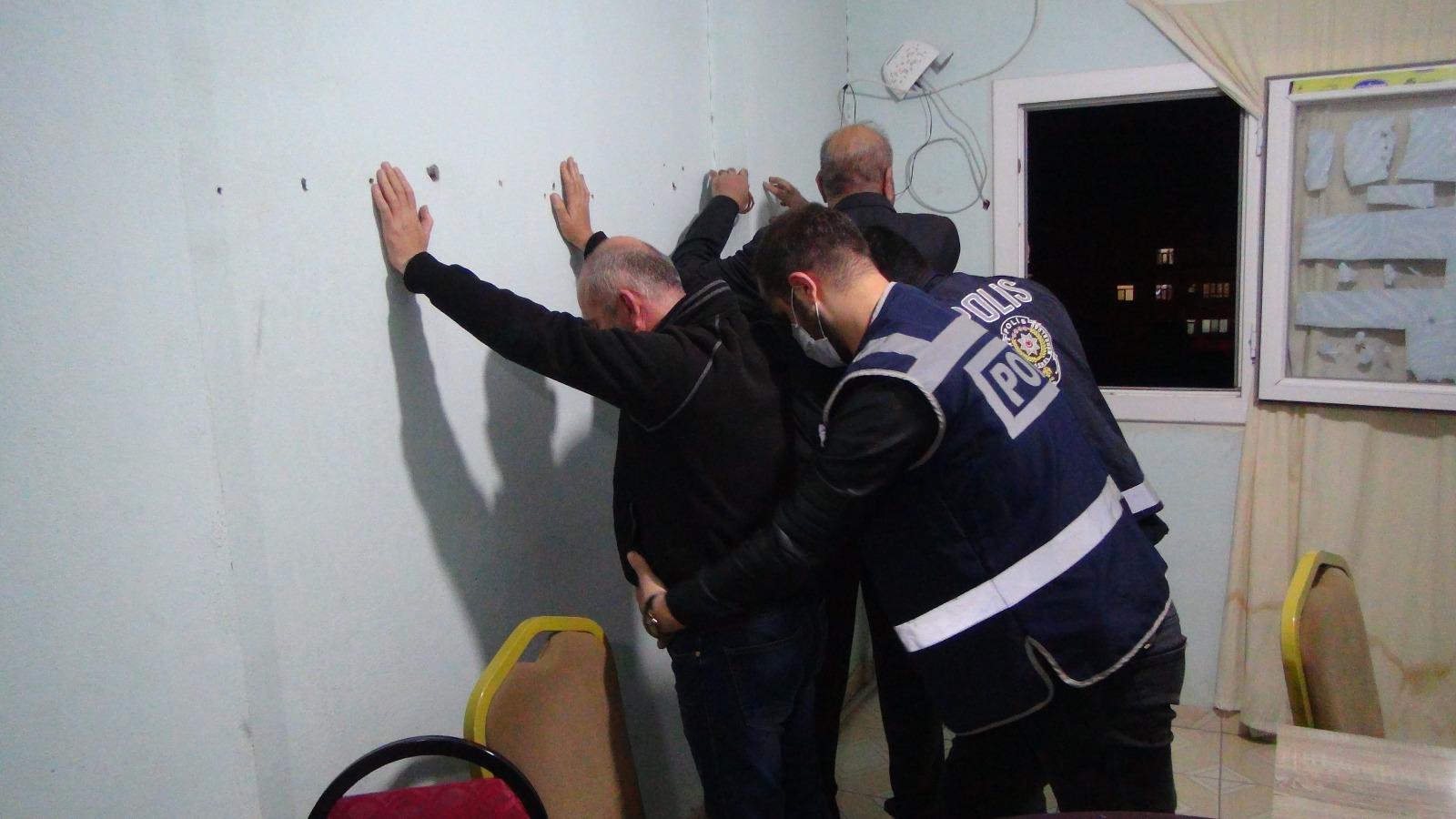 Kızıltepe'de daireden bozma kumarhaneye baskın