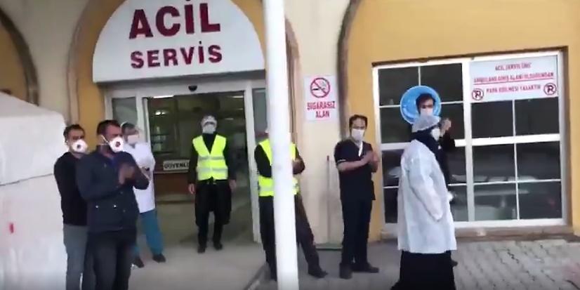 Mardin'de korona virüs hastalarından sevindiren haber
