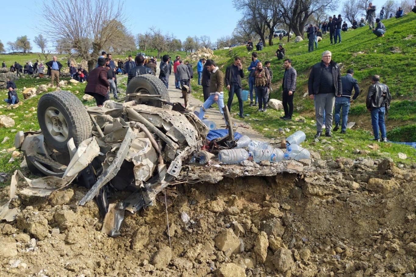 Diyarbakır'da orman işçilerine saldırı: 5 şehit