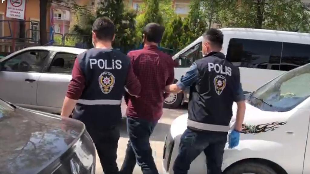 Mardin'de hırsızlık zanlısı parmak izinden yakalandı