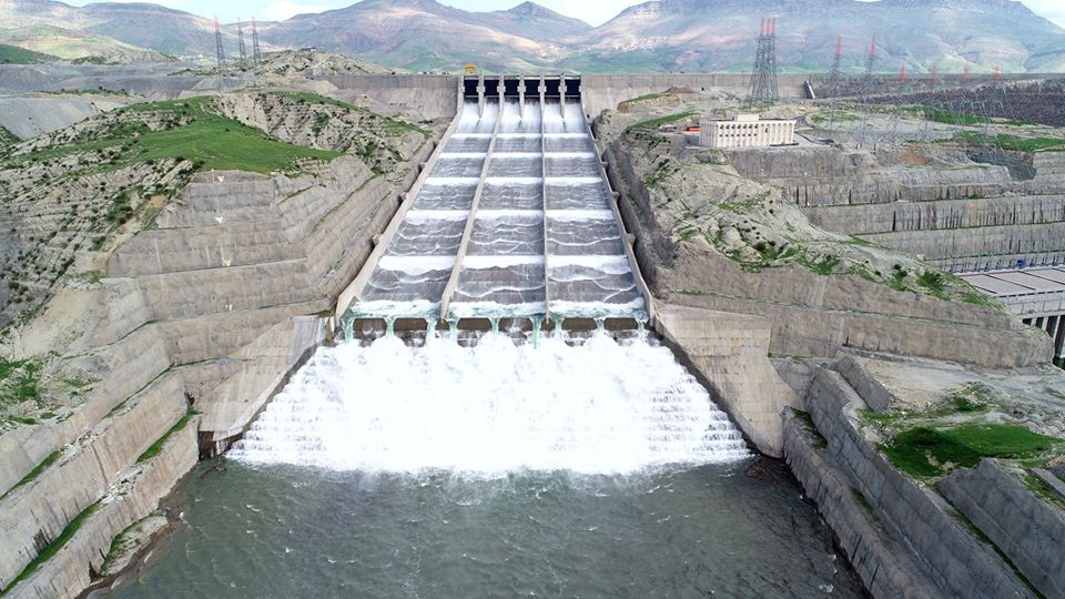 Mardin'in kalkınmasına katkı sağlayacak Ilısu Barajı'nda üretim başlıyor