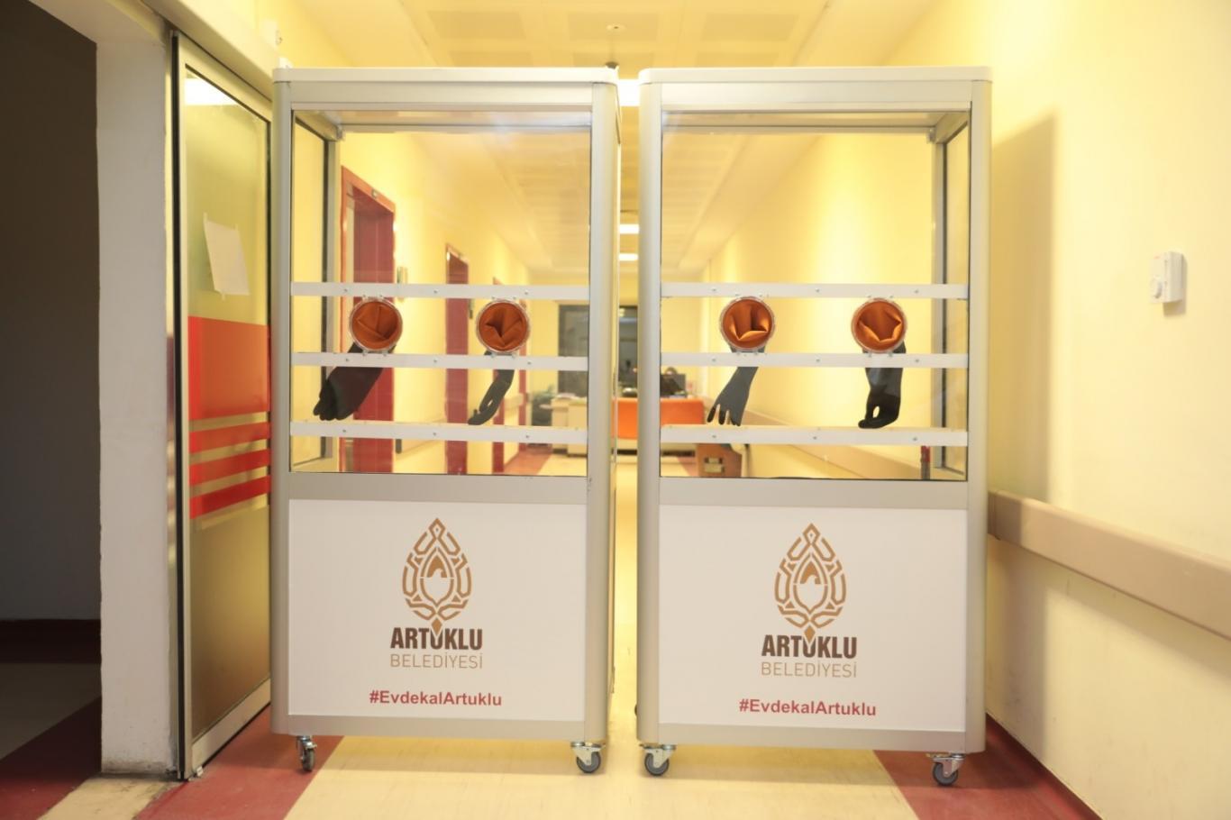 Devlet Hastanesine muayene izole kabini yerleştirildi