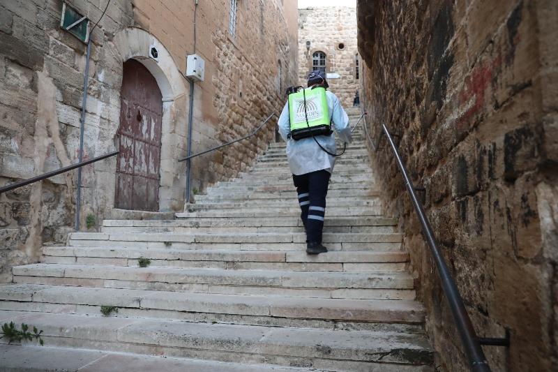 Mardin Büyükşehir Belediyesinden koronavirüs çalışmaları