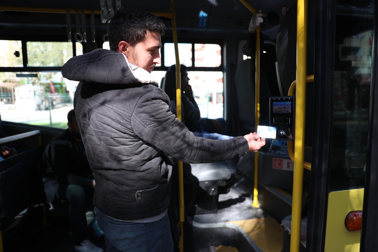 Mardin'de toplu taşımda akılı kart dönemi başladı