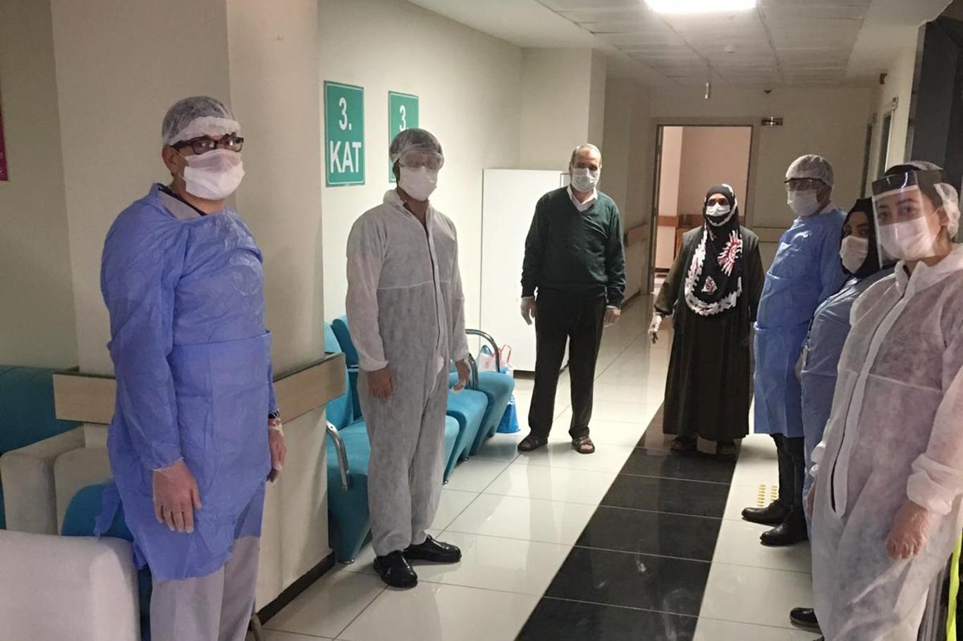 Mardin'de Coronavirüs hastalarından ardı ardına sevindiren haberler
