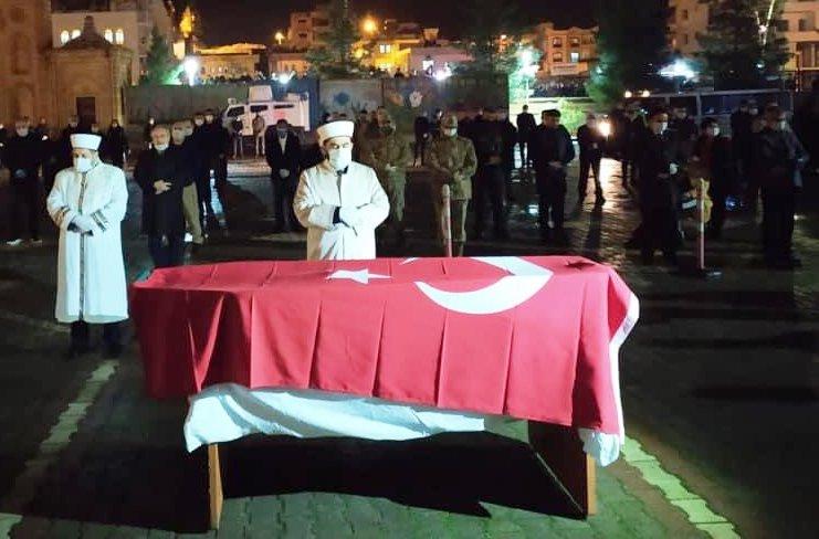 Mardin'de şehit mühendis son yolculuğuna uğurlandı