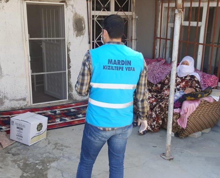Mardin'de Vefa Sosyal Destek Grubu 16 bin 94 vatandaşın yardımına yetişti