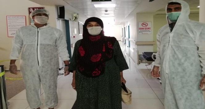 Kızıltepe'de 70 yaşındaki hasta korona virüsü yendi, hastanede pozitif vaka kalmadı