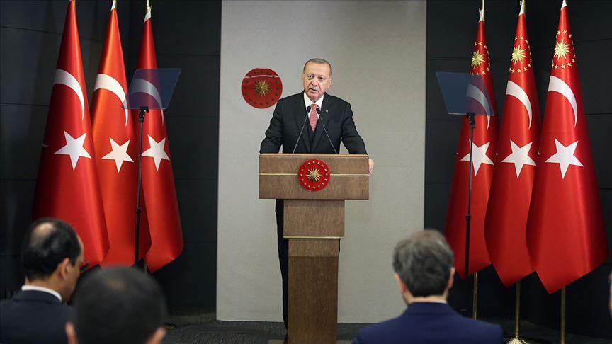 Cumhurbaşkanı Erdoğan salgında ek tedbirleri açıkladı