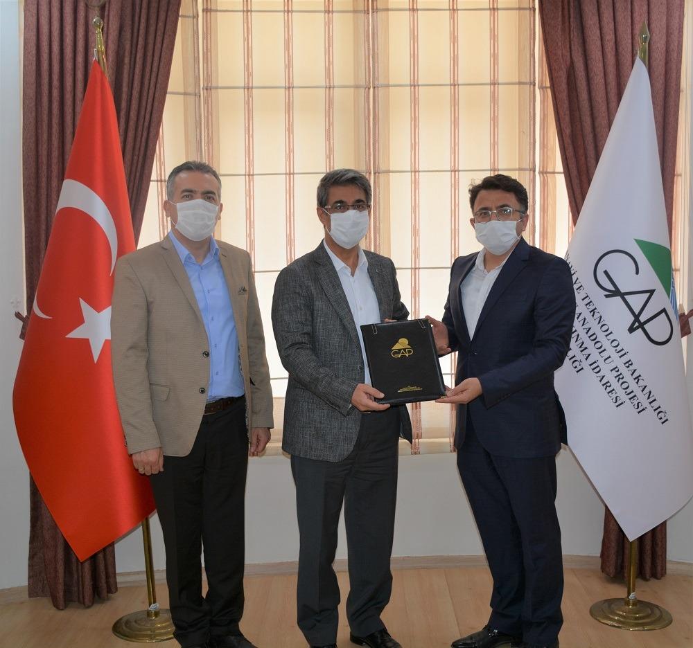 Kızıltepe'de üç büyük projeye imza atıldı