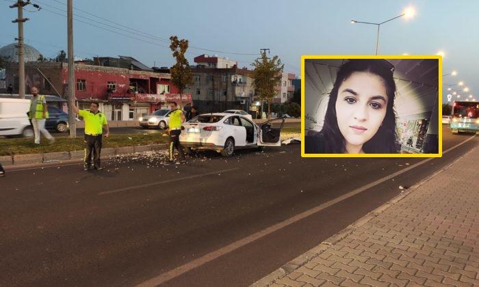 Yolun karşısına geçmek isterken araba çarpan genç kız hayatını kaybetti