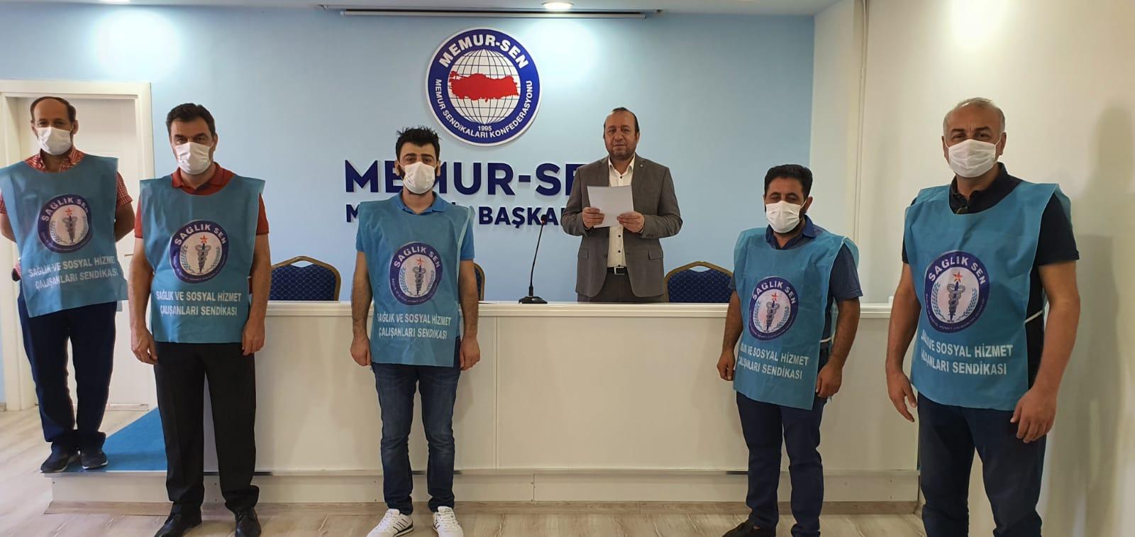 Mardin Sağlık Sen'den 'döner sermaye' tepkisi