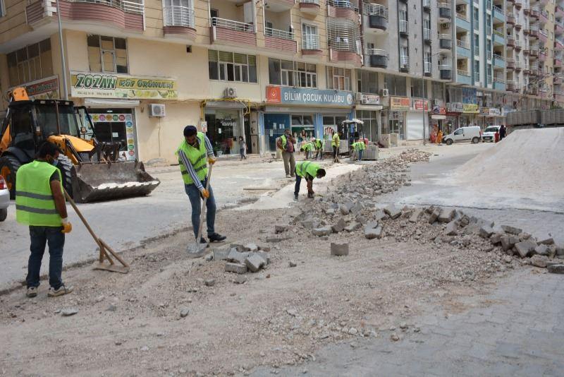 Kızıltepe'de bakım onarım çalışmaları başladı
