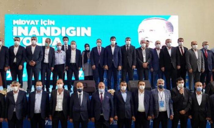 Midyat AK Parti'de Atilla Yarış, güven tazeledi