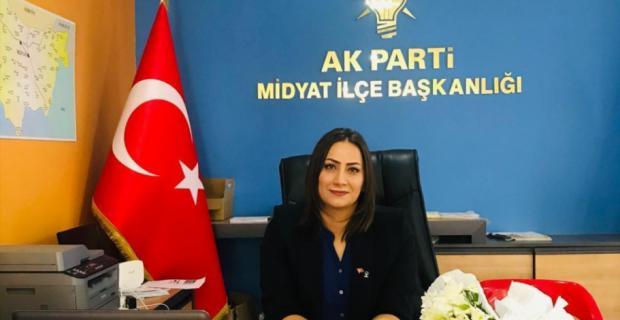 AK Parti Midyat İlçe Kadın Kolları Başkanı görevi bıraktı