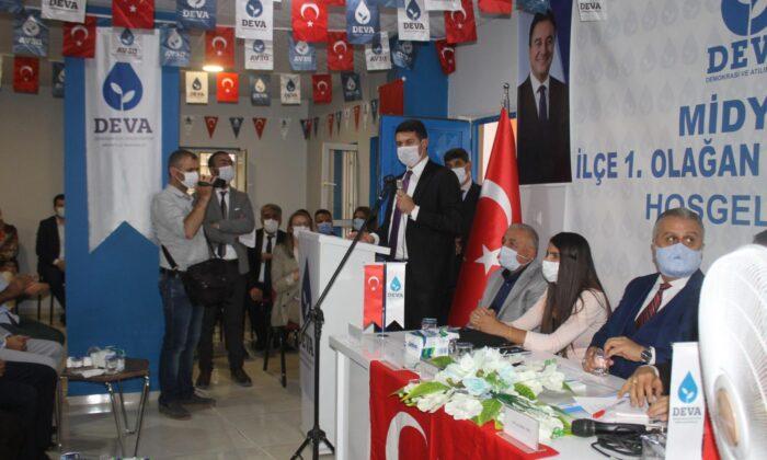 Deva Partisi Midyat İlçe Başkanlığına Mehmet Beşir Romioğlu seçildi