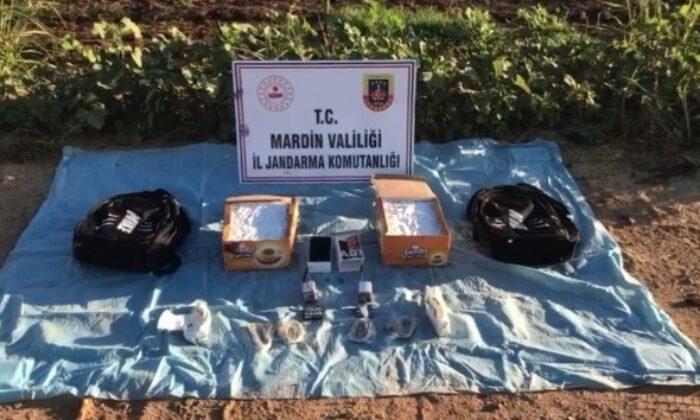 Mardin'de saldırı hazırlığındaki 2 Suriye uyruklu terörist yakalandı
