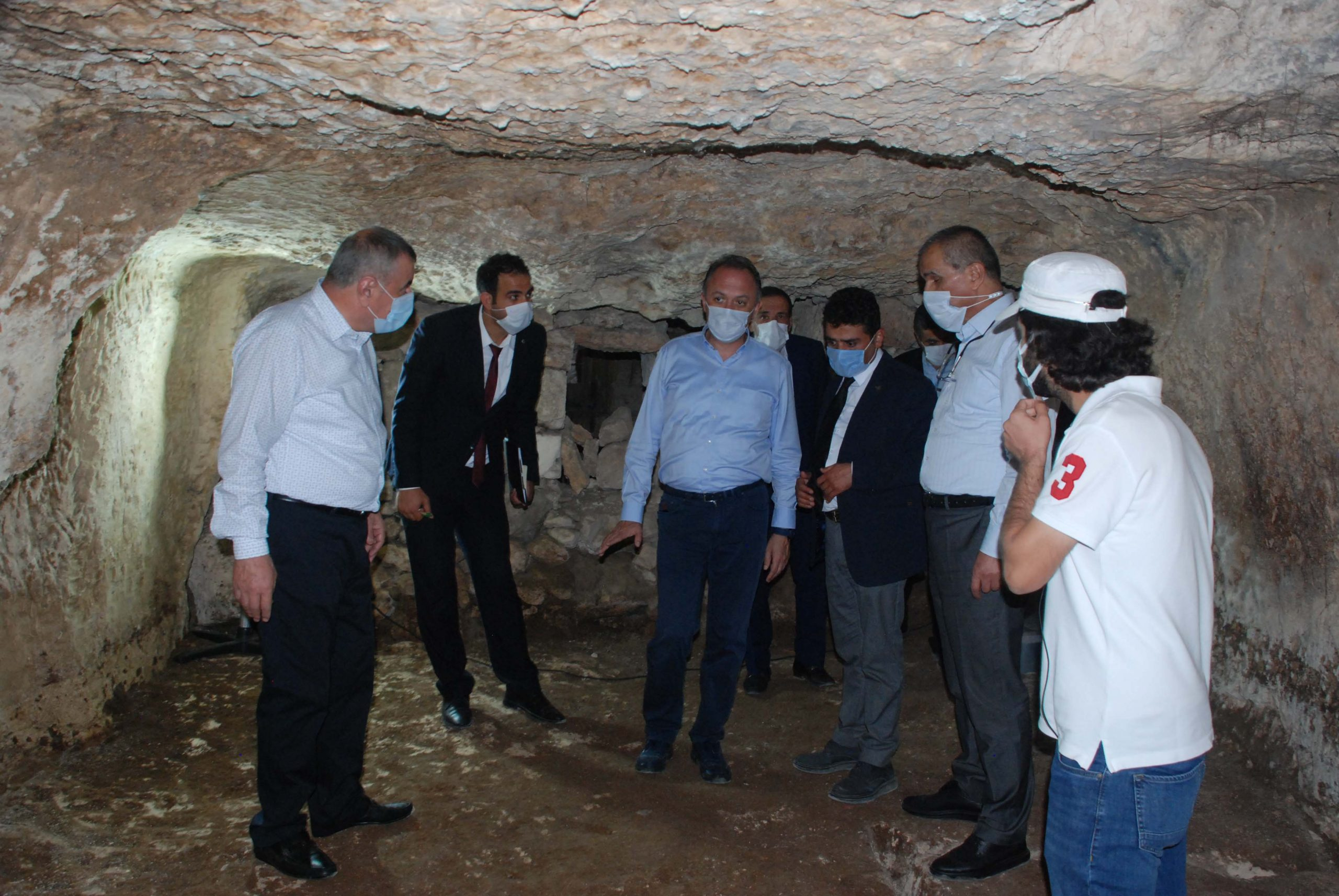 Kültür Varlıkları ve Müzeler Genel Müdürü, tarihi alanlarda incelemelerde bulundu