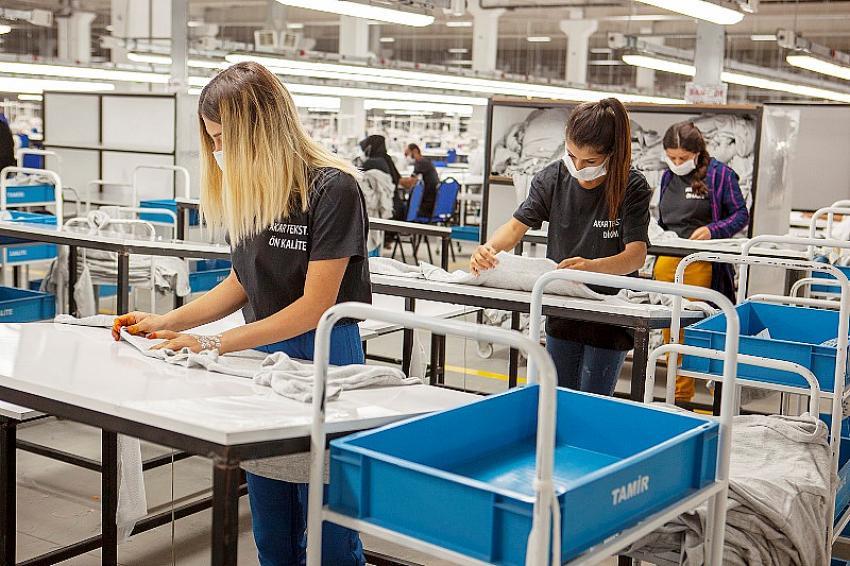 Mardin'de 2 bin 500 kişiye istihdam sağlayacak tesiste üretim başladı