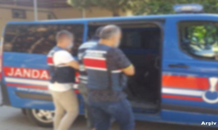 Mova'dan Hırsızlık yapan şahıs Jandarmadan Kaçamadı