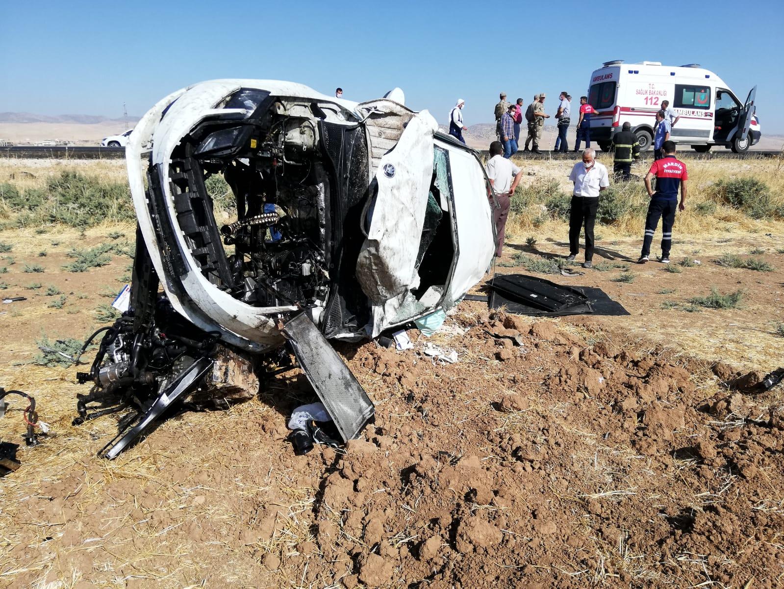 Otomobil takla attı, sürücü ağır yaralandı